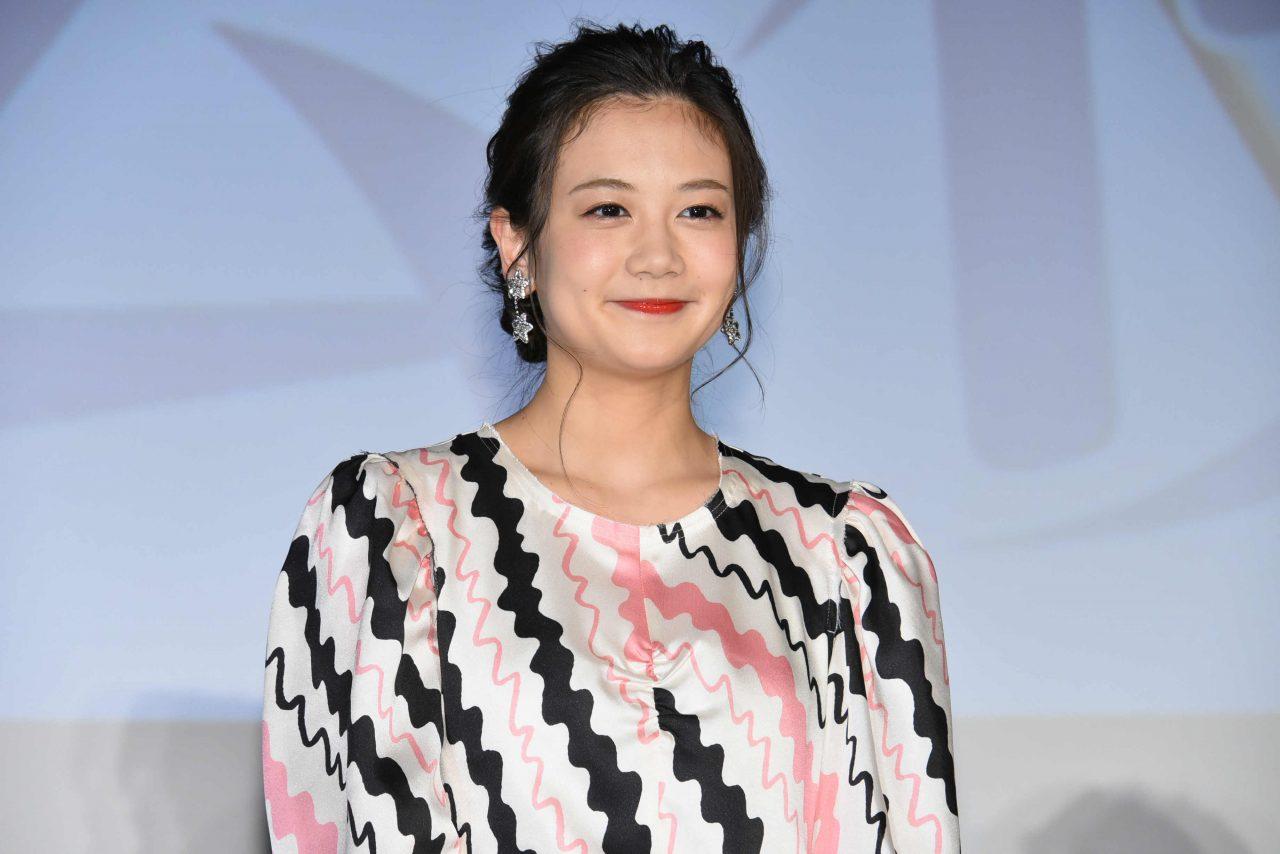 映画『僕の彼女は魔法使い』初日舞台挨拶 主演・千眼美子