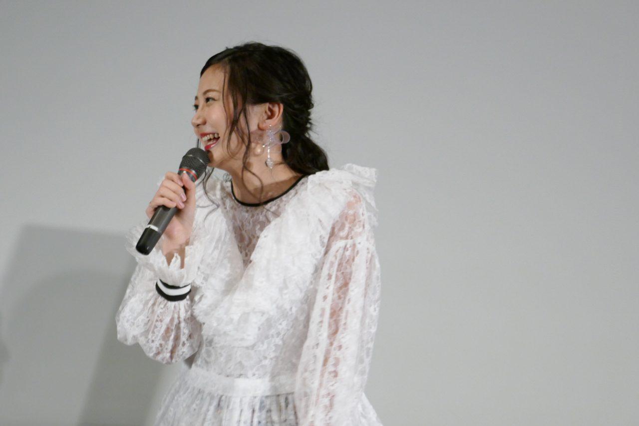 映画『僕の彼女は魔法使い』大ヒット御礼!大阪舞台挨拶 主演・千眼美子登壇